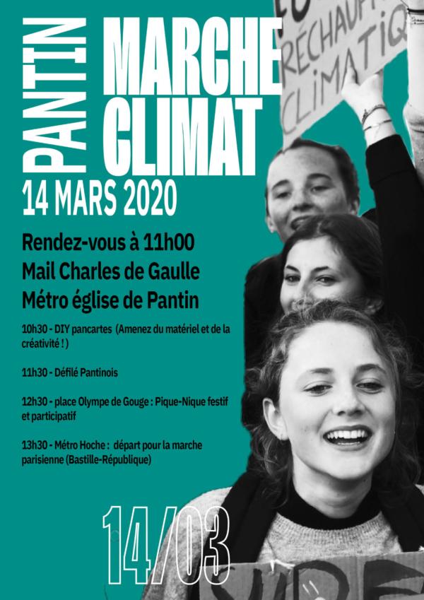 MARCHE POUR LE CLIMAT à PANTIN